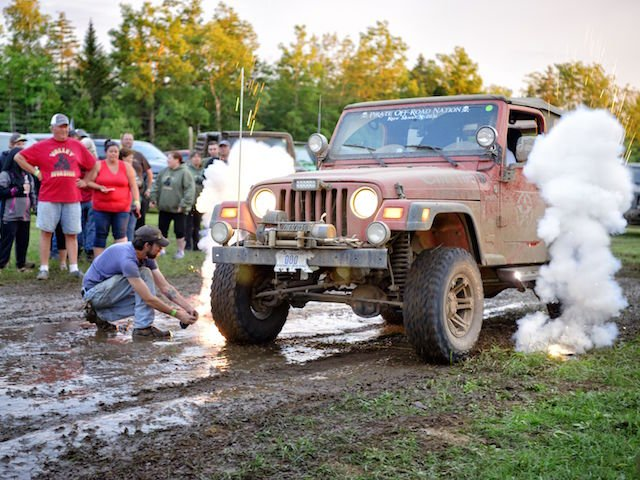 Pyrotechnics at the mud pit photo CindyHiltz8.jpg