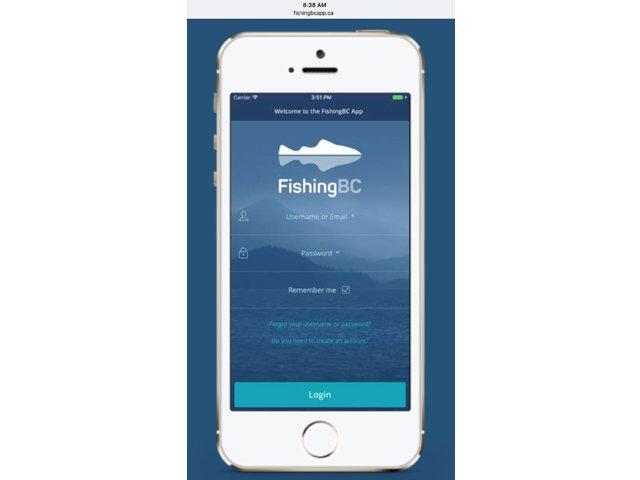 Fishing BC App