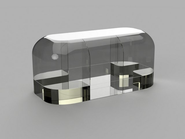 3D printed camper