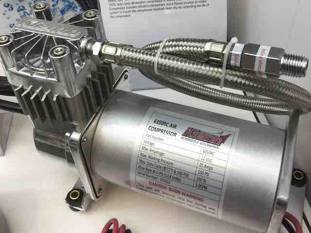 Kleinn Waterproof HD Air Compressor