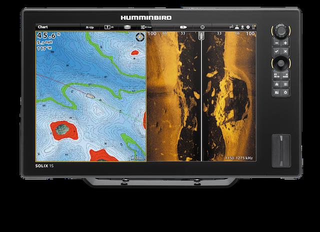 Humminbird's SOLIX™ 15 CHIRP MEGA SI GPS