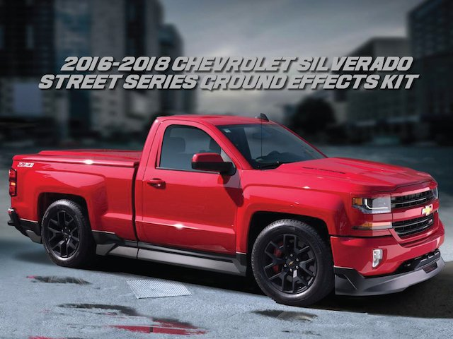 All-new Street Series Body Kit for 2016-18 Silverado ...