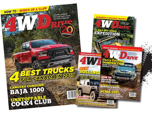 4WD cover collage