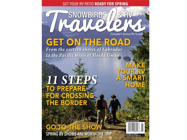 Snowbirds & RV Travelers 15.2 cover