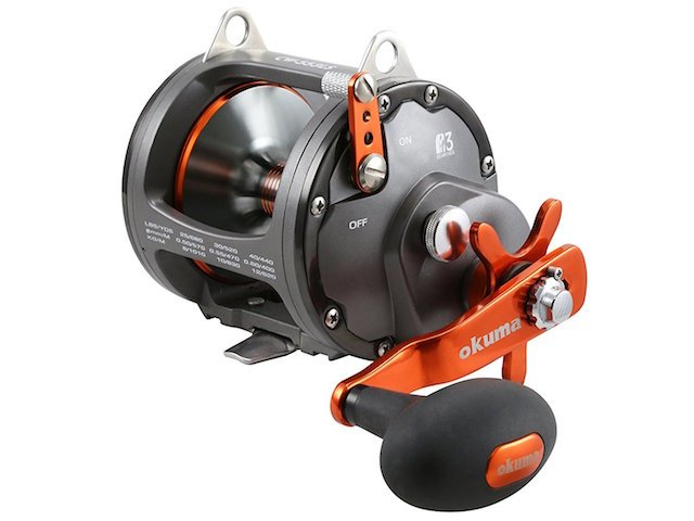 Okuma Cold Water Wire Line Star Drag Reel
