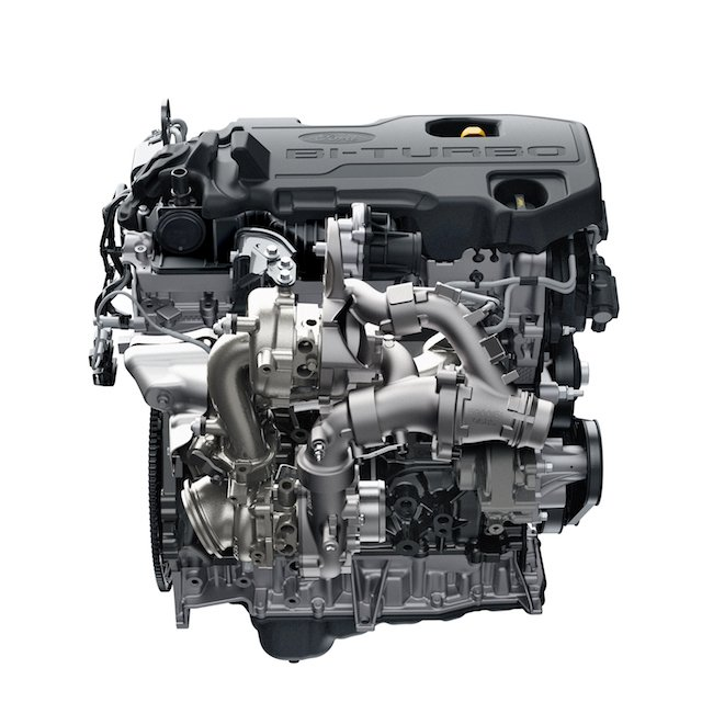 Ford Ranger Raptor Engine