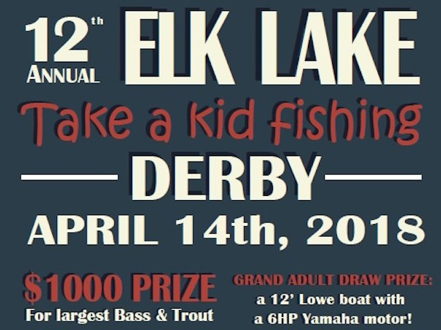 'Take a Kid Fishing' Derby