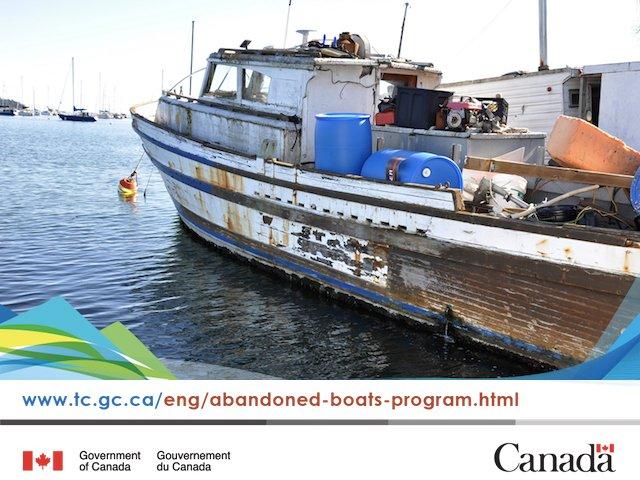 Transport Canada's Abandoned Boats Program