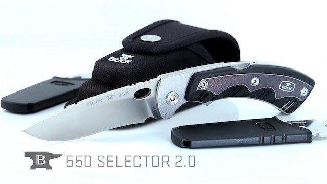 Buck Knives 550 Selector 2.0
