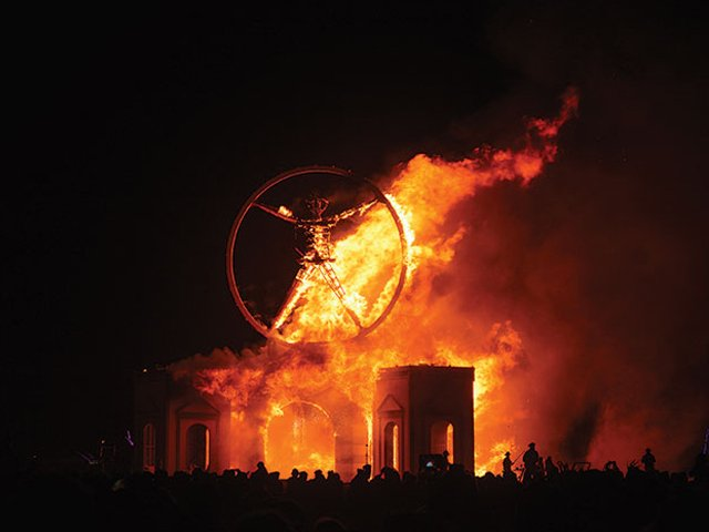Burning Man celebrates the summer solstice