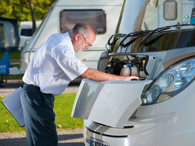 Buying a used motorhome