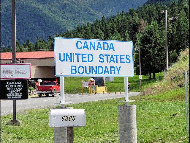 Canada US boundary