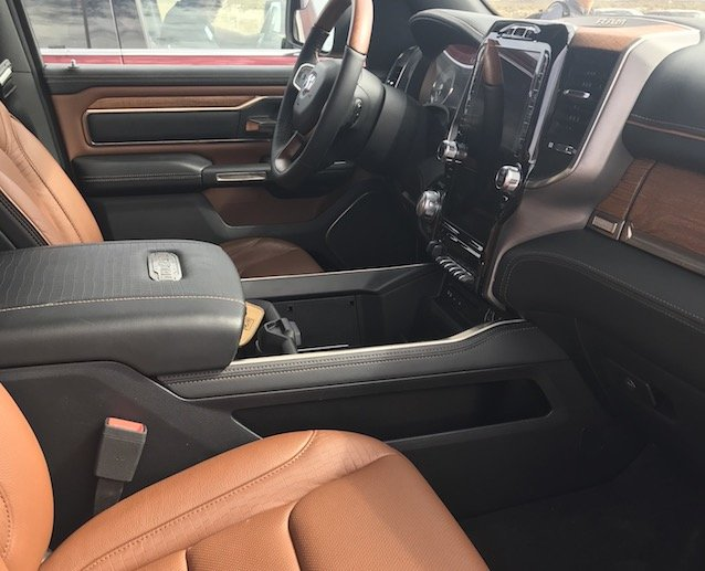 The luxurious Laramie Longhorn interior was a perfect platform to accompany country music