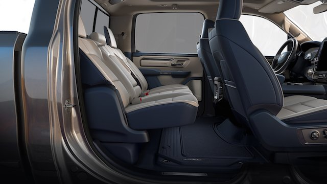 Reclining rear seats make for happier passenger