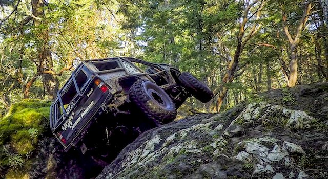 Wheeling some of the trails at Frogstompers in the Pathmaker.jpeg
