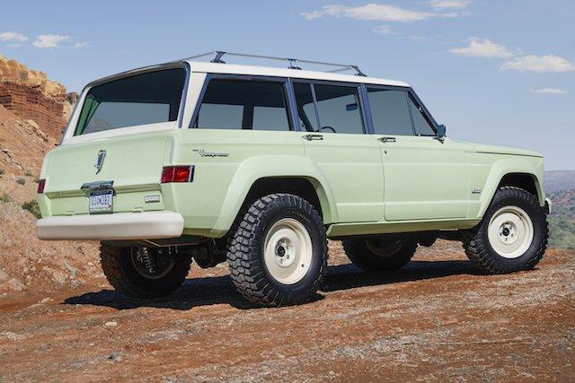 Jeep® Wagoneer Roadtrip Concept