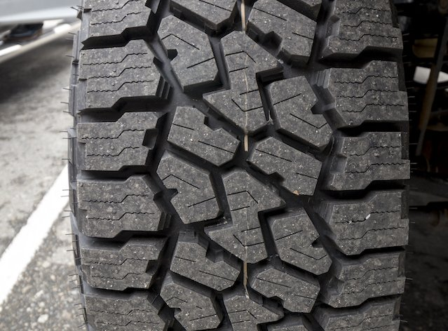 Siping improves wet traction and the angles stabilize the tread block to reduce wear photo Perry Mack.jpeg