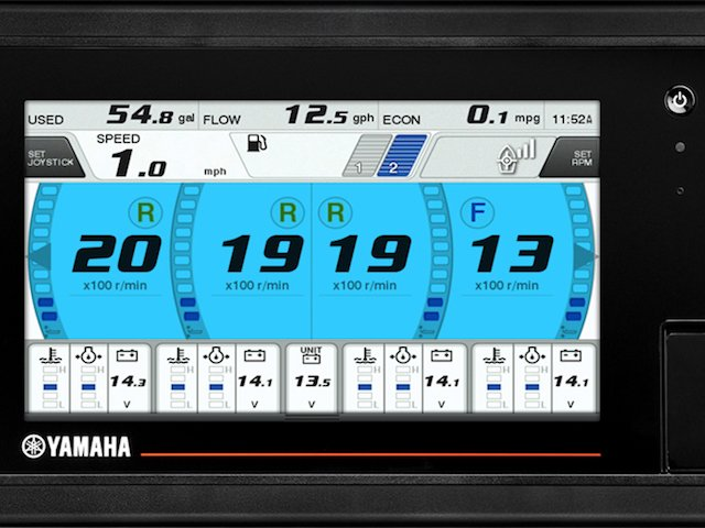 Yamaha CL7™ Display