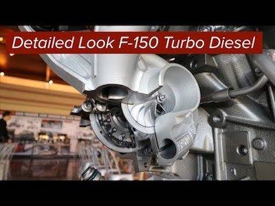 New details on the 3.0L Diesel for F150 - Video teaser