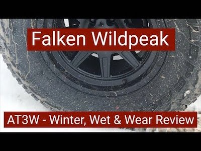 Falken Wildpeak A/T3W Tires Reviewed - Video