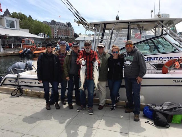 Vancouver Island Fishing Report - June 3/18