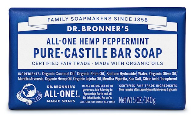 Dr. Bonner's Pure-Castile Bar Soaps