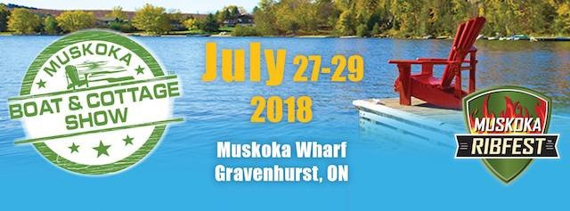 muskoka boat and cottage show