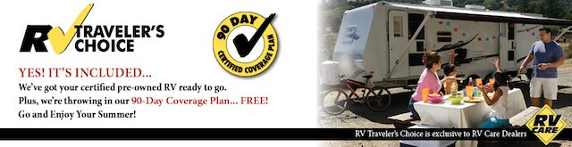 RV TRAVELER'S CHOICE 90 DAY COVERAGE PLAN