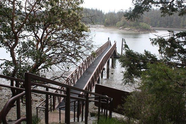 English Camp dock on Garrison Bay.