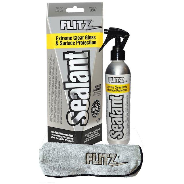 Flitz Sealant w Microfiber