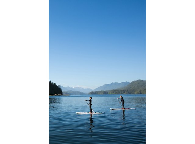 Stand Up Padde Boarding on calm inlet waters by Tofino credit Jeremy Koreski.jpg