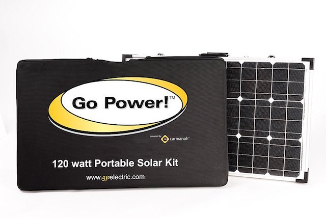 Go Power! Portable Solar Kit
