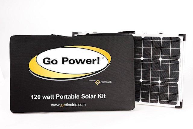 Go Power! Portable Solar Kit