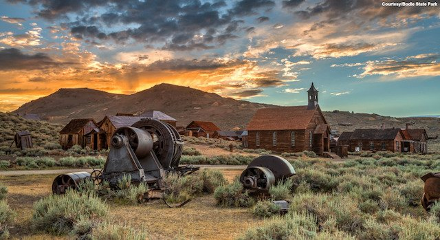 The Town Time Forgot Bodie Historic State Park Ca