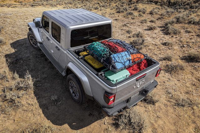 Mopar cargo carrier for all-new 2020 Jeep® Gladiator