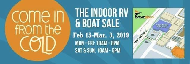 Regina Indoor Rv Amp Boat Show 2019 Suncruiser