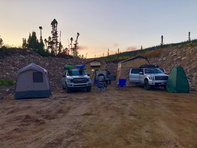 Photo 2018-09-13, 7 20 55 PM First night in Labrador we found a gravel pit of sorts to camp at. Somewhere between St Lewis and MaryΓÇÖs Harbour..jpg