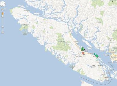 Vancouver Island Best Map Best Places Suncruiser