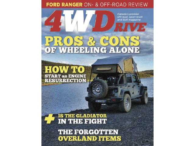 4WDrive 211 cover