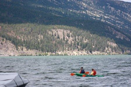 Wood Lake in Lake Country, BC