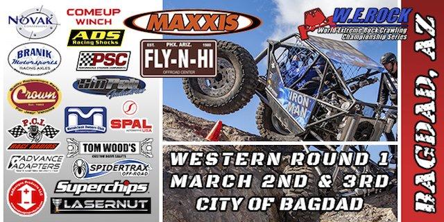W.E. Rock Western Series Round 1