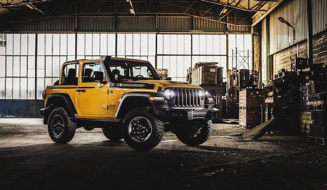Mopar Jeep Wrangler Rubicon