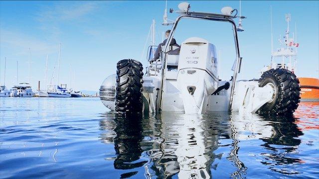Sealegs water