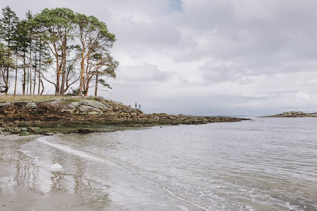 Galiano Island shore