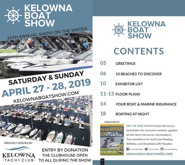 Kelowna Boat Show 2019 guide