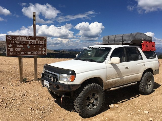 Build 2 ΓÇô Cumberland Pass (Colorado). Highest elevation the truck has seen.JPG
