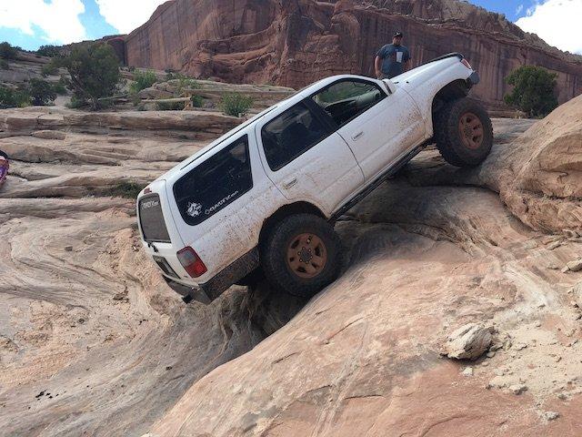 Build 1 ΓÇô Moab - Going up Wipe Out Hill.JPG