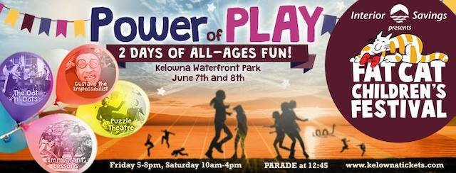 Fat Cat Children's Festival 2019 The Power of Play