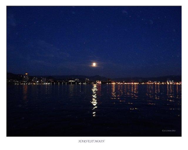 Boating at Night Harvest Moon Photo  tourismkelowna.com Al Cotton.jpg