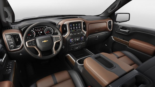 The all-new 2019 Silverado High Country interior features more passenger room, more storage space and more functionality — all the things that customers were clear they want. Every surface has been designed for function and ergonomics, from the ro...
